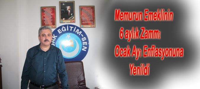 Memurun Emeklinin 6 aylık Zammı Ocak Enflasyonuna Yenildi