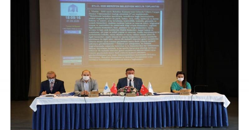 Merzifon Belediyesi Eylül ayı Olağan Belediye Meclisi Toplantısı Gerçekleştirildi