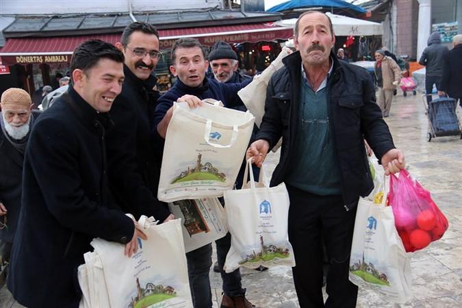 Merzifon Belediyesinden 'Çevre Dostu Proje'