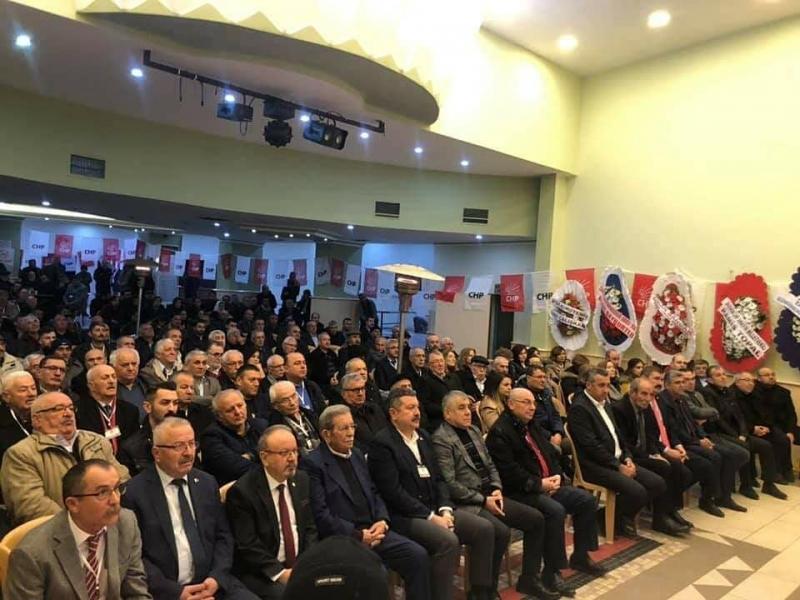 Merzifon CHP'de,Koparan Güven Tazeledi