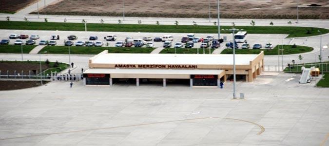 Merzifon Havalimanı Kasım'da Tekrar Hizmete Girecek