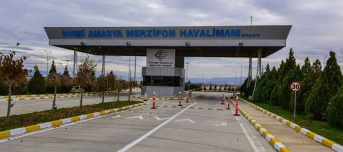 MERZİFON HAVALİMANI'NDAN 110 BİN YOLCU HİZMET ALDI