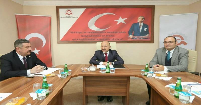 Merzifon Organize Sanayi Bölgesi Müteşebbis Heyeti Toplantısı Gerçekleştirildi