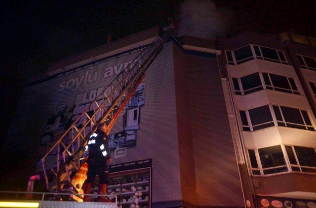 Merzifon'da Avm'de Çıkan Yangında 2 kişi Hayatını Kaybetti 4 Kişi Yaralandı