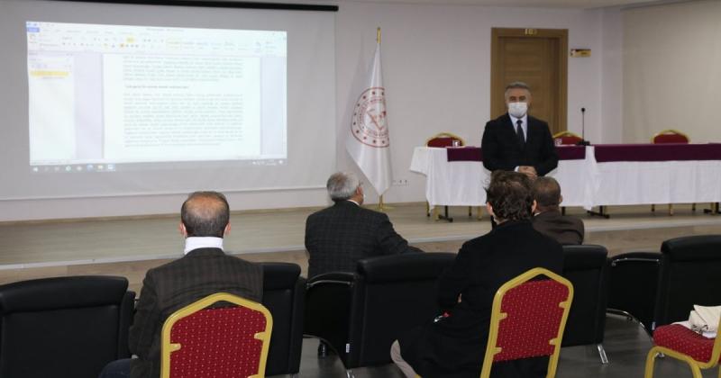 Mesleki Eğitimde 1.000 Okul Projesi Tanıtım Toplantısı Gerçekleştirildi