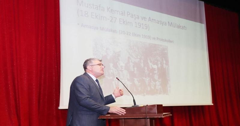 'Millî Mücadele Yolunda Amasya' Konulu Konferans Gerçekleştirildi