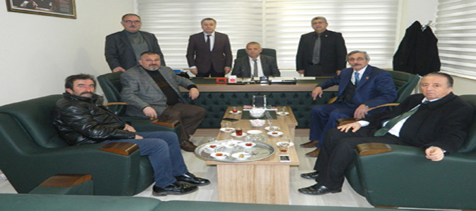 Milletvekili Tuncer CHP Grubunu Ziyaret Etti