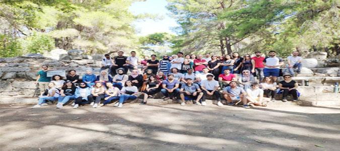 Mimarlık Fakültesi Öğrencilerinden Antalya'ya Teknik Gezi