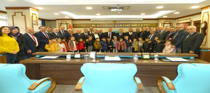 Minik Öğrenciler İl Genel Meclisi Toplantısına Katıldı