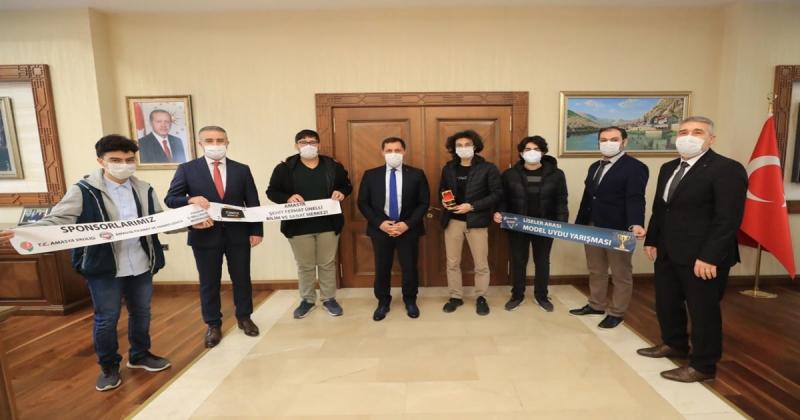Model Uydu Yarışmasında Türkiye Brincisi Oldular
