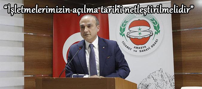 """Murat KIRLANGIÇ """"İşletmelerimizin açılma tarihi netleştirilmelidir"""""""