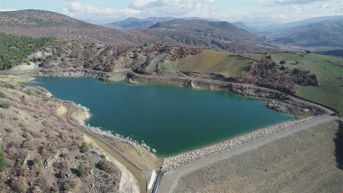 Musaköy ve Çiviköy'de Gölet ve Basınçlı Sulama Tesisi Tamamlandı