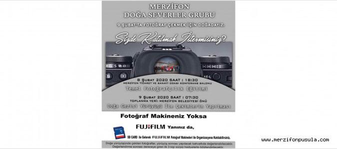 Ödüllü Fotoğraf Yarışması Yapılacak