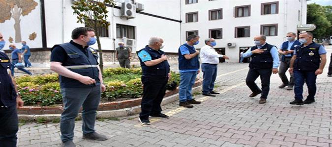 Orman Genel Müdür Yardımcısı Mehmet Çelik Amasya'yı Ziyaret Etti