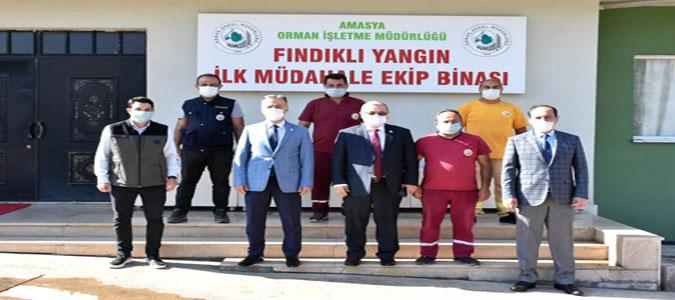 Orman Genel Müdür Yardımcısı Özkaya Amasya'daydı