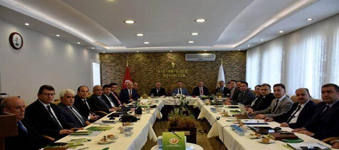 Orman İşletme Müdürleri Toplantısı Bafra'da Yapıldı