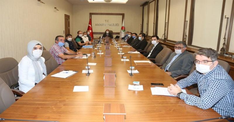 Orman Yangınları ile Mücadele Komisyonu Toplantısı Yapıldı
