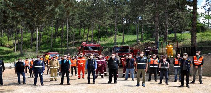 Orman Yangınlarına Karşı Alev Avcıları 24 Saat Hazır Bekliyor