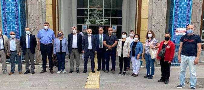 CHP Amasya İl Başkanı Ayasofya İmamı Hakkında Suç Duyurusunda Bulundu