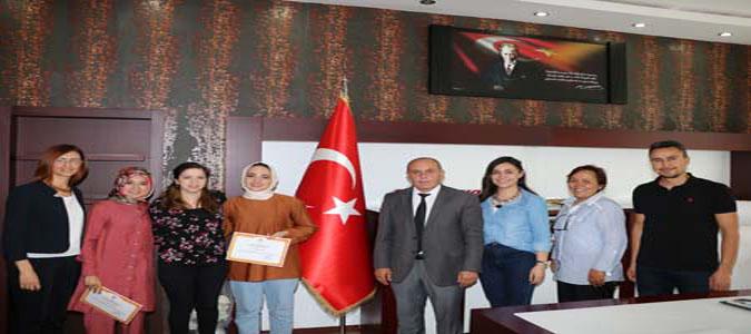 PDR Öğrencilerine Bilimsel Araştırma Ödülü Verildi