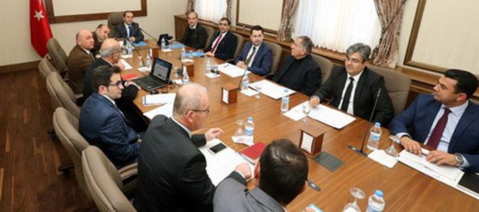 Planlama ve geliştirme kurulu toplantısı yapıldı