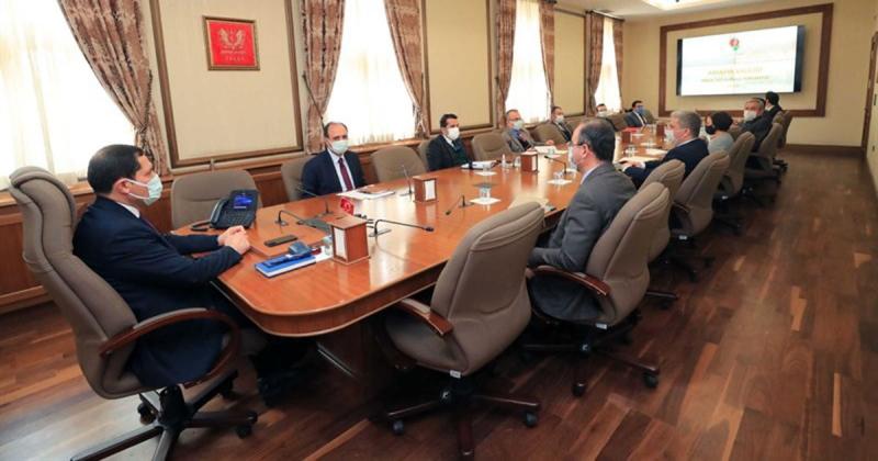 Projeler Üst Kurulu, Vali Mustafa MASATLI'nın Başkanlığında Toplandı