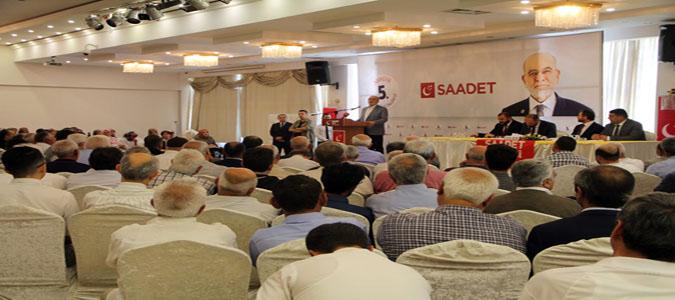 Saadet Partisi Genel Başkanı Karamollaoğlu Amasya İl Kongresine Katıldı.