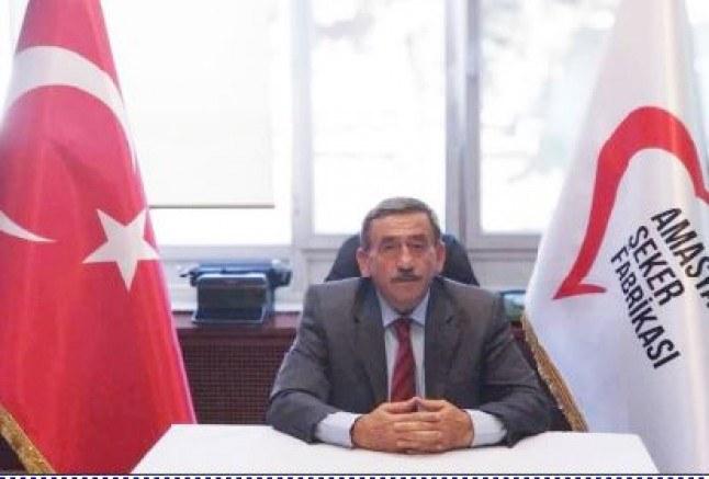 Saatcı; 'Önümüzdeki günlerde yapılacak olan S.S. Amasya Pancar Ekiciler Kooperatifi Başkanlığına adayım'