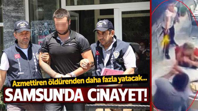 Samsun'da cinayet!