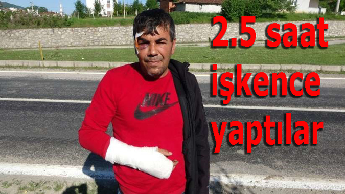 Samsun'da evine polis gibi gelip 2.5 saat işkence yaptılar
