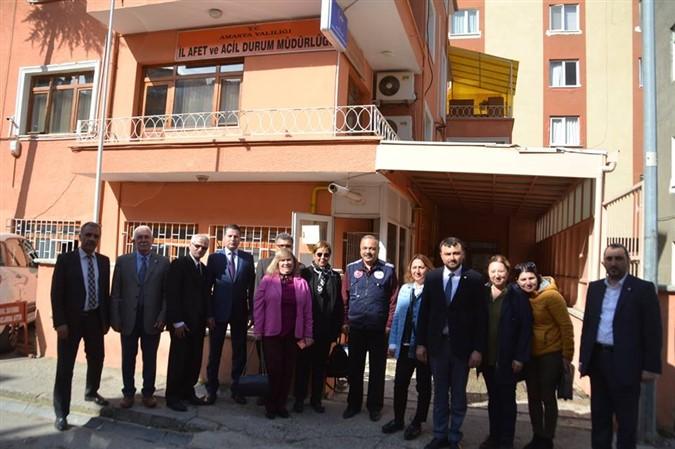 Saraçoğlu Kurum İl Müdürlüklerini Ziyaret Etti