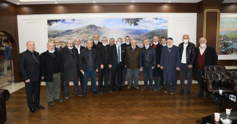 Selanik Muhacirleri Derneğinden Sarı'ya Ziyaret