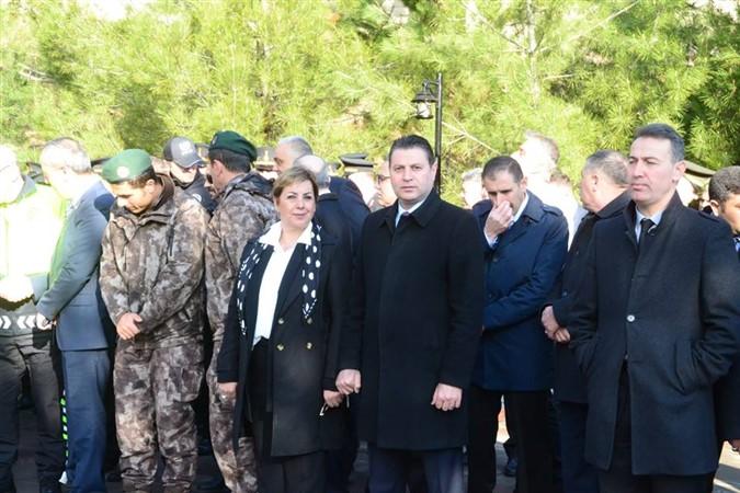 Serpil Saraçoğlu Tekirdere Şehitlik Anıtında Düzenlenen Programa Katıldı.