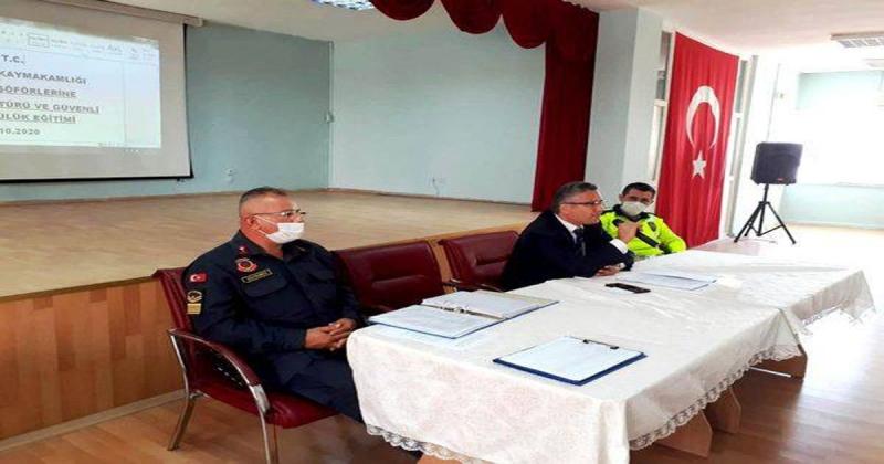 Servis Şoförleri Ve Rehber Personele Eğitim Verildi