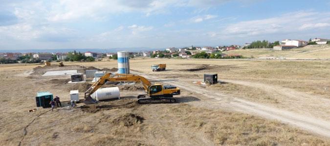 Suluova 4. Etap Toki'de Kazı Başladı