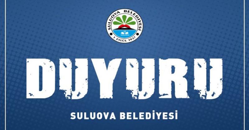 Suluova Belediyesi Duyuru