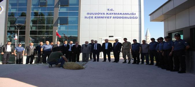 Suluova İlçe Emniyet Müdürlüğü Yeni Binasında Hizmet Vermeye Başladı