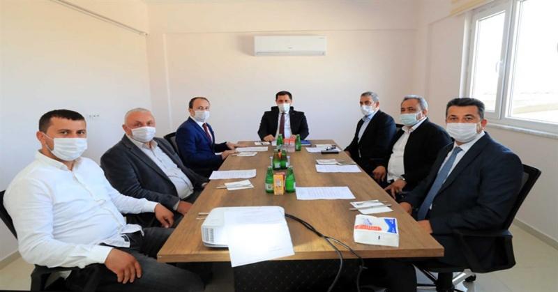 Suluova Tarıma Dayalı İhtisas Besi OSB Yönetim Kurulu Toplantısı Gerçekleştirildi