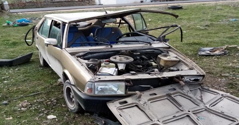 Suluova'da Garip Kaza! Sürücü Yok Oldu