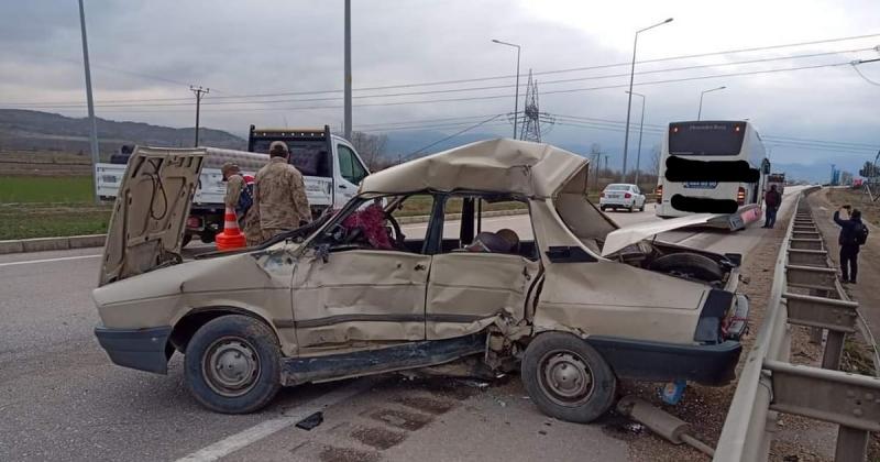 Suluova'da Trafik Kazası, Bir Kişi Hayatını Kaybetti
