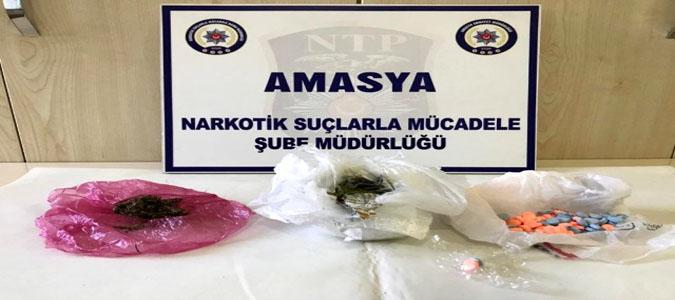 Suluova'da Uyuşturucu Operasyonu