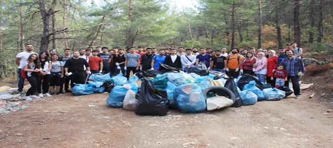 'Temiz Vatanım' Sloganlı Çevre Etkinliği Amasya'da Yapıldı