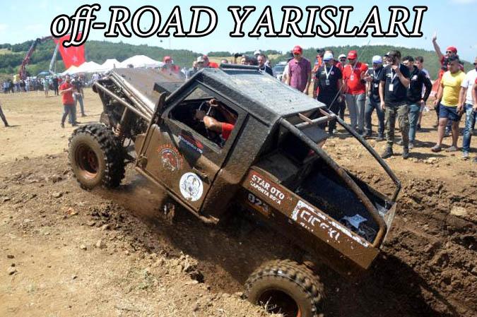 Tokat'ın Niksar ilçesinde 4'sü düzenlenen off-road yarışları yoğun ilgi gördü