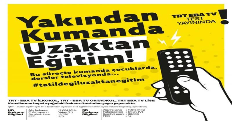 TRT-EBA TV FREKANSLARI