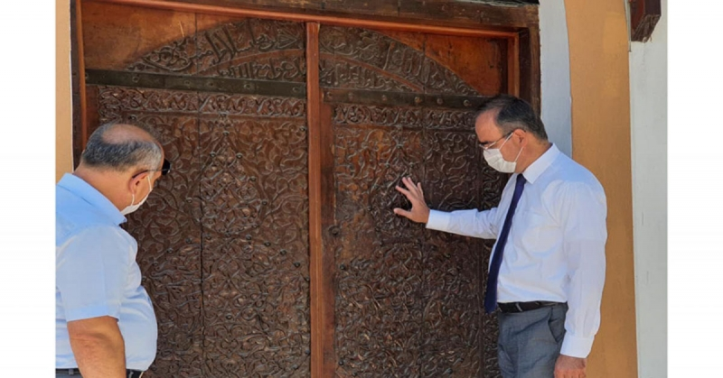 Turizm İl Müdürü Eken, Merzifon'da İncelemelerde Bulundu