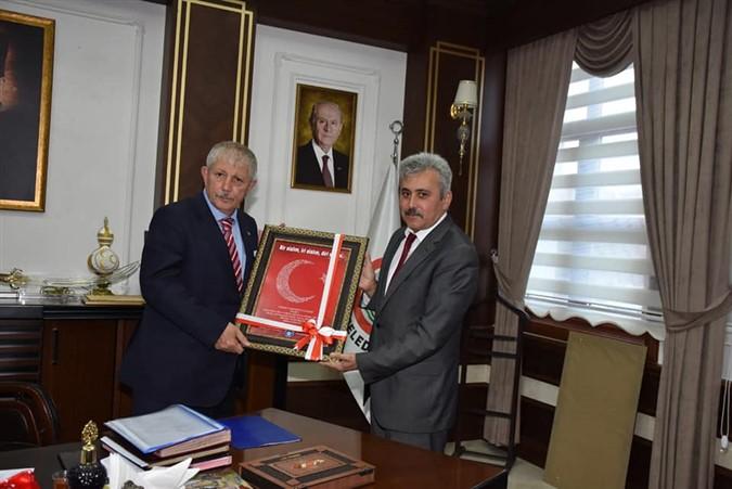 Türk Eğitim-Sen'den Başkan Sarı'ya  Ziyaret