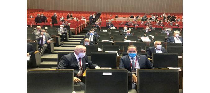 Türkiye Belediyeler Birliği Toplantısına Katıldı