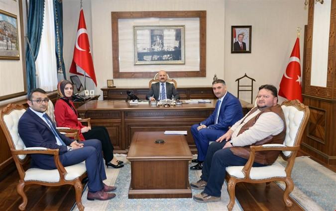 Türkiye Kızılay Derneği'nden Vali Varol'a Ziyaret