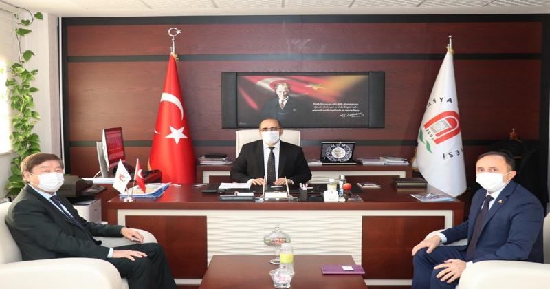 TÜRKSOY'dan Amasya Üniversitesine Ziyaret