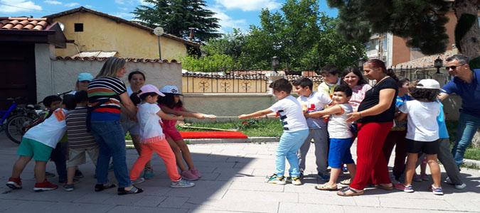 Unutulan Çocuk Oyunları Merzifon'da Hayat Buldu